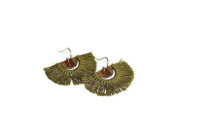 Point B - Fringe Earring