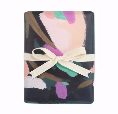 Night Lily Gift Wrap Roll