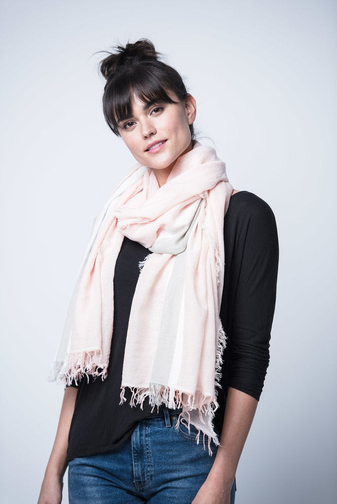 Rose Tres Cotton Scarf