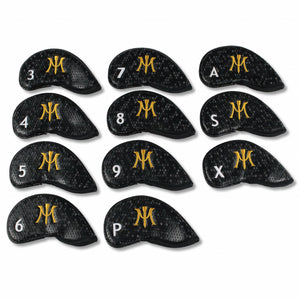 Iron Covers Black w/ Gold