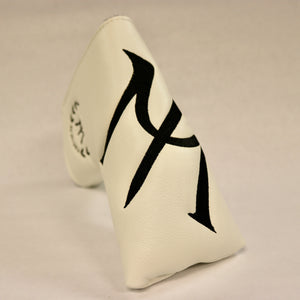 "Blade Putter Cover ""M"" White"