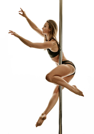 How Louise Wawrzynska prepares for pole dance competition