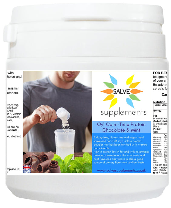 Oy! Caim-Time Chocolate & Mint Protein Meal Shake