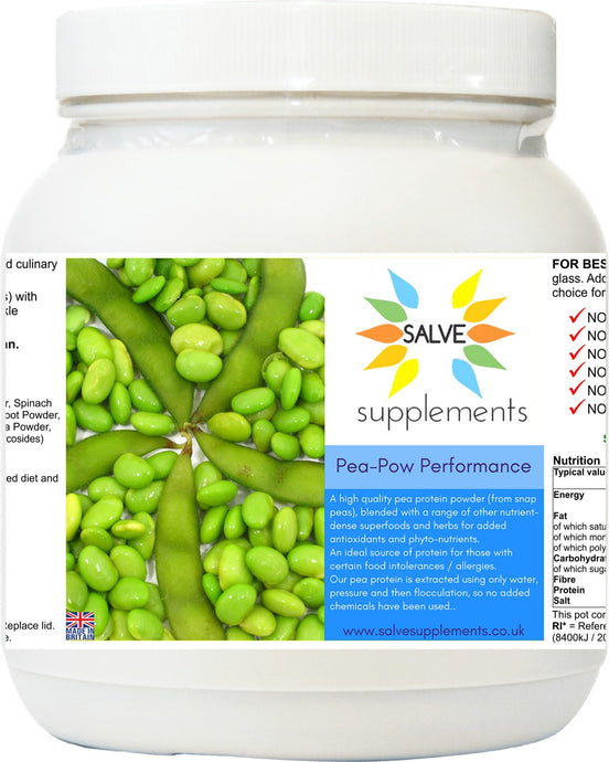 Pea-Pow Performance Protein High Quality Pea Protein