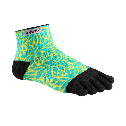 Injinji Womens Run LW Mini Crew Fern - Primal Lifestyle - Injinji Toe Socks