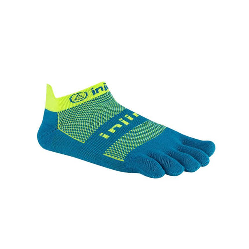 Injinji Run Lightweight No Show Electric Blue - Primal Lifestyle - Injinji Toe Socks