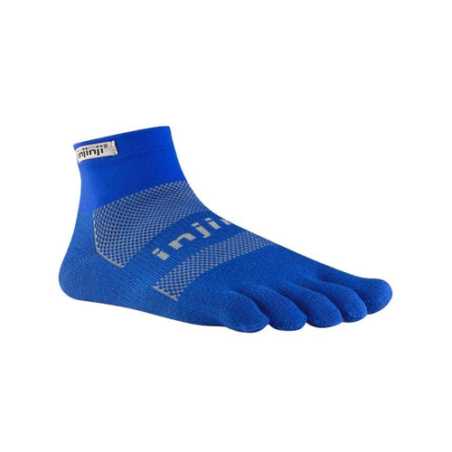 Injinji Run Original Weight Mini Crew Mariner Blue - Primal Lifestyle - Injinji Toe Socks