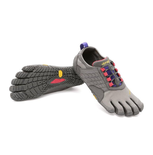 Trek Ascent Womens Dark Grey Lilac - Primal Lifestyle - Vibram Fivefingers