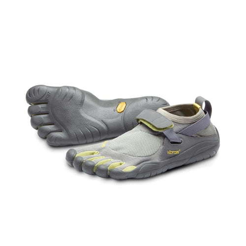 Vibram Fivefingers - Vibram Fivefingers KSO Classic Womens Grey Taupe - Primal Lifestyle Barefoot