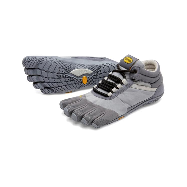 Vibram Fivefingers - Trek Ascent Insulated Womens Grey - Primal Lifestyle Barefoot