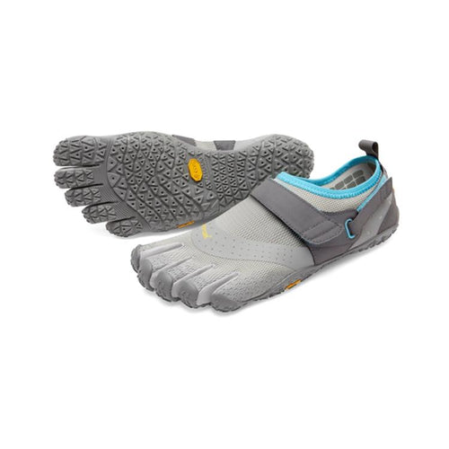 V-Aqua Womens Light Grey Blue - Primal Lifestyle - Vibram Fivefingers