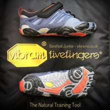 V-Train Mens Grey Black Red - Primal Lifestyle - Vibram Fivefingers