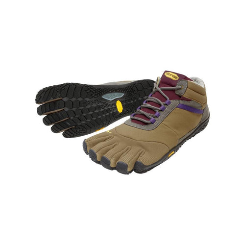 Vibram Fivefingers - Trek Ascent Insulated Womens Khaki - Barefoot Junkie
