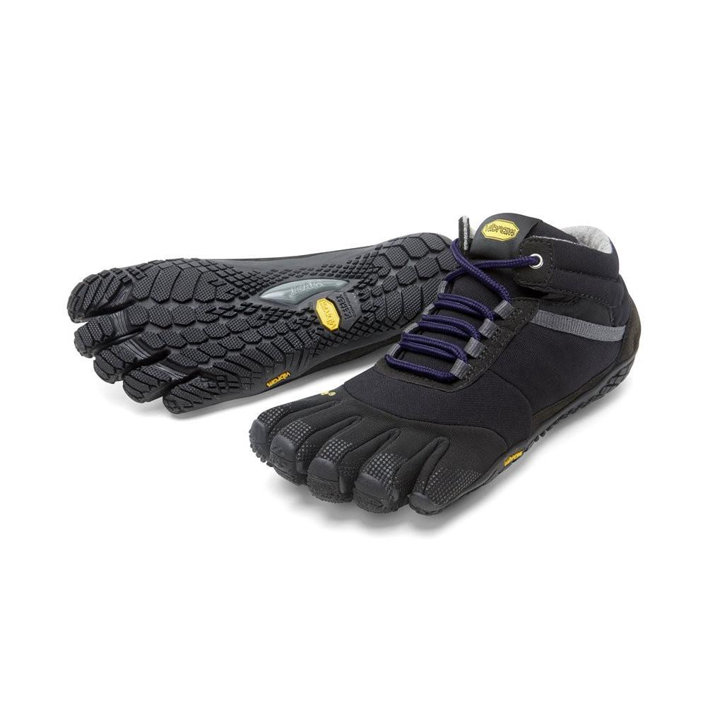 Vibram Fivefingers - Trek Ascent Insulated Womens Black Purple - Primal Lifestyle Barefoot