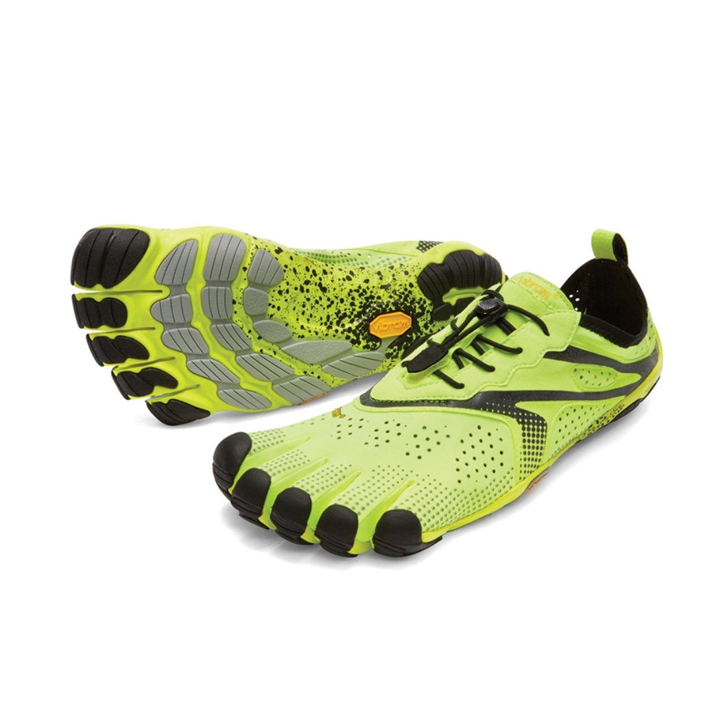 Vibram Fivefingers - Vibram Fivefingers V-RUN Mens Yellow - Primal  Lifestyle Barefoot 2f4dad59385