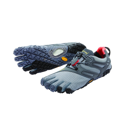 V-Trail Mens Grey Black Orange - Primal Lifestyle - Vibram Fivefingers