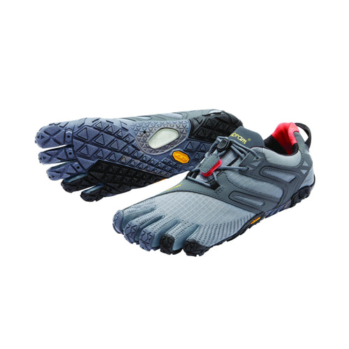 V-Trail Womens Grey Orange Black - Primal Lifestyle - Vibram Fivefingers