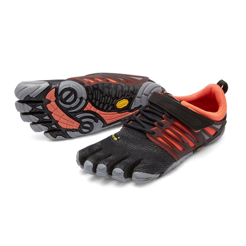 Vibram Fivefingers - V-Train Womens Black/Coral/Grey - Barefoot Junkie