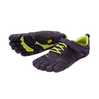 Vibram Fivefingers - V-Train Womens Nightshade/Safety Yellow - Barefoot Junkie