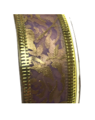 Roll of Lilac organza ribbon