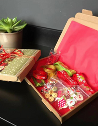 CHRISTMAS CRAFTING BOX!!!!!