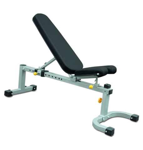 3 in 1 Bench Pro (Grey Flat to Incline) (IFFI)