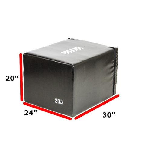 "3 in 1 Safety Foam Plyo Box 20"" 24"" 30"" SUPER DOORBUSTER"