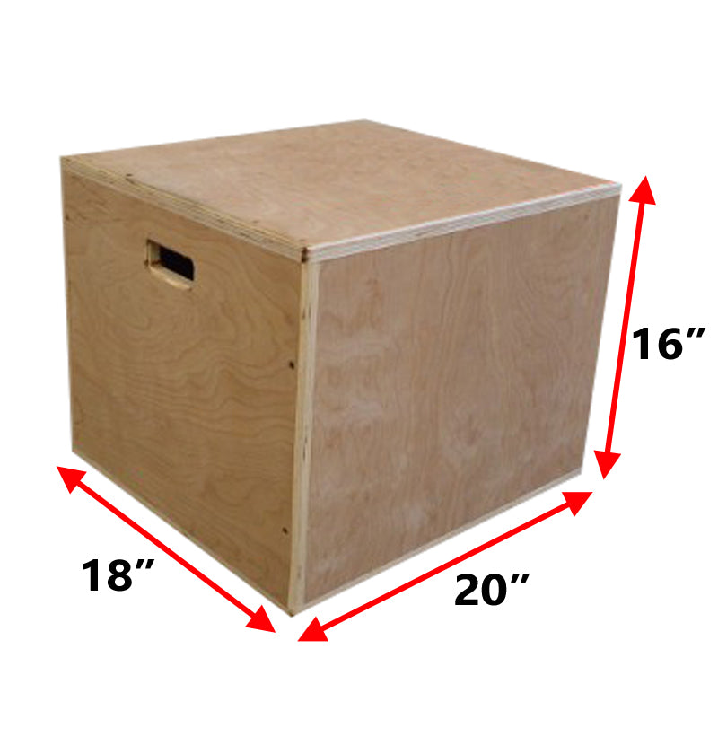 3 in 1 Wood Plyo Boxes