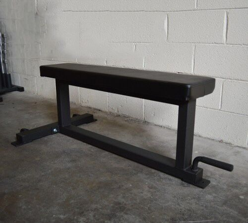 Flat Bench Deluxe USA Made 2x3 w/ Wheels