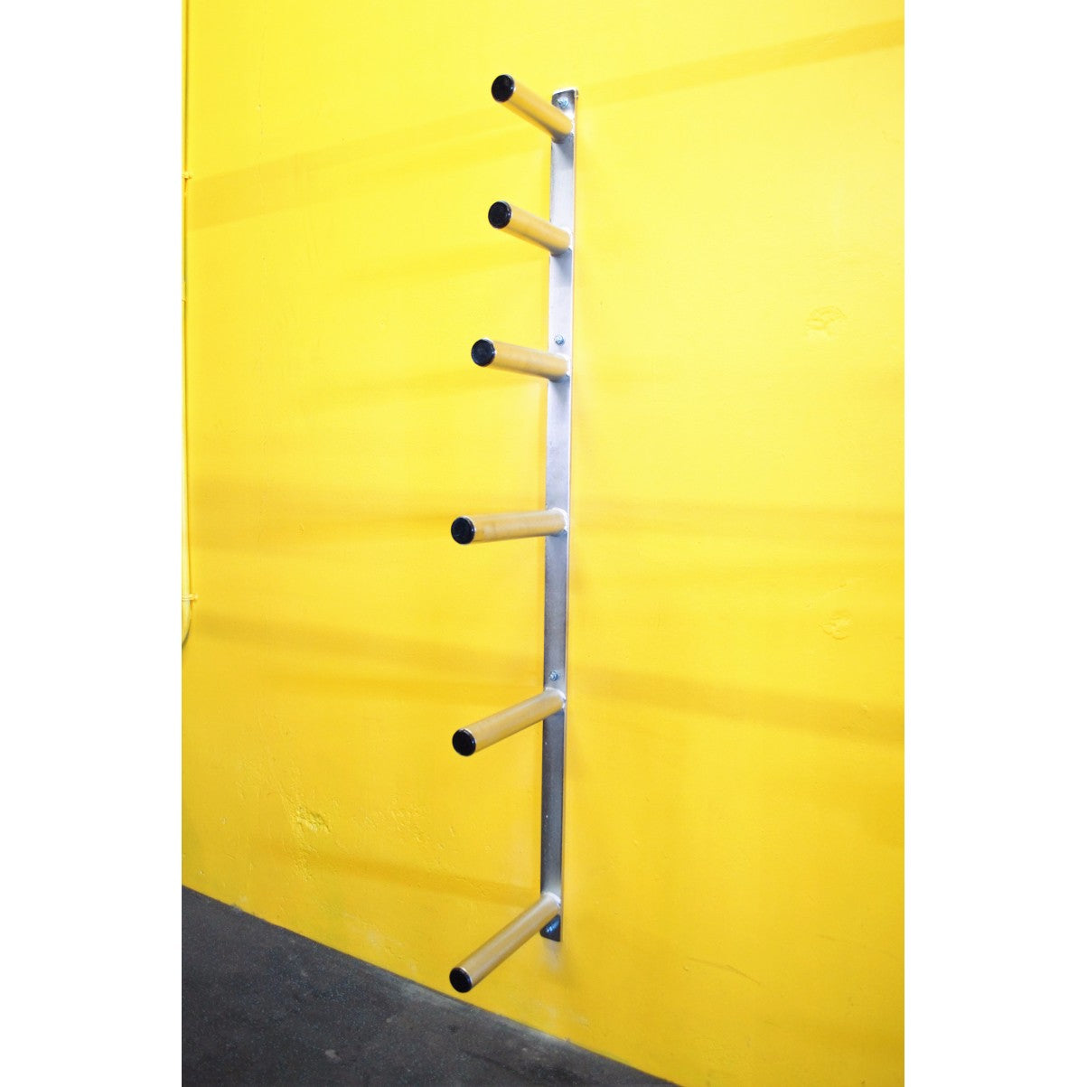 6 Peg Wall Mounted Olympic Plate Storage The Fitness Armory