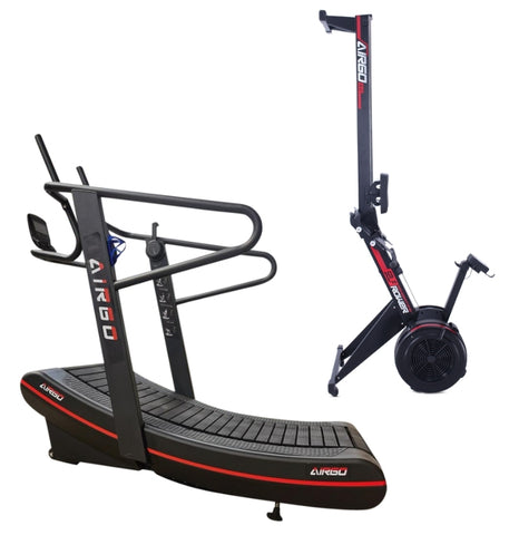 AirGo Curve Treadmill Elite 2.0 + Rower COMBO (IN STOCK)