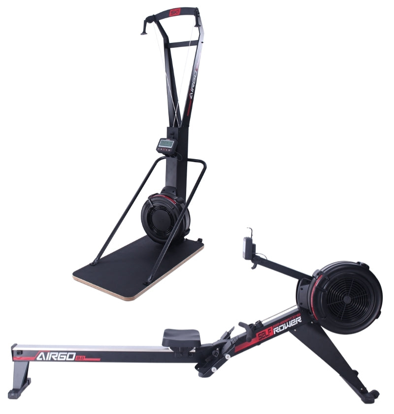 AirGo Rower + Ski Trainer/Base Combo (IN STOCK)
