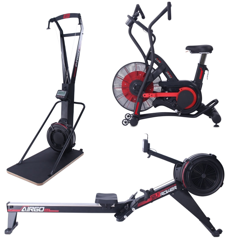 AirGo Bike + Rower + Ski Trainer/Base Combo (2-4 WEEKS)