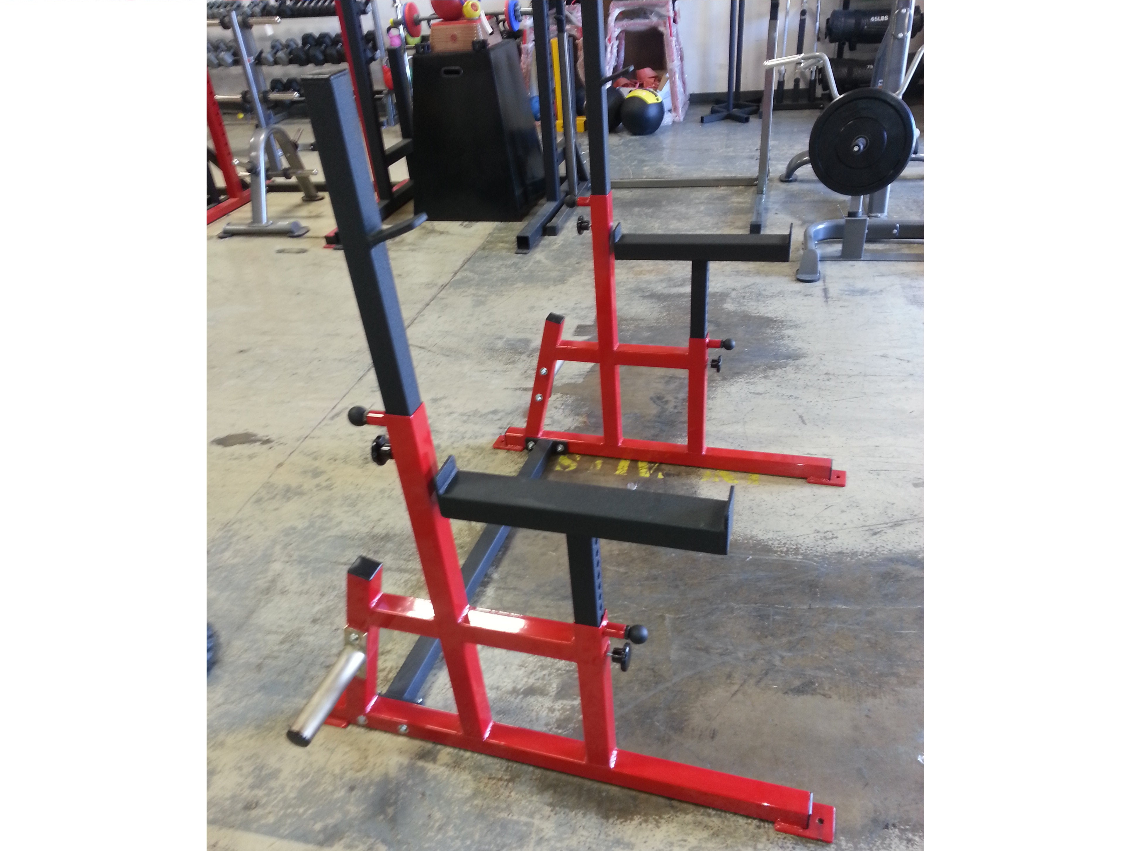 Connected Squat Rack Deluxe w/ Spot 2x2