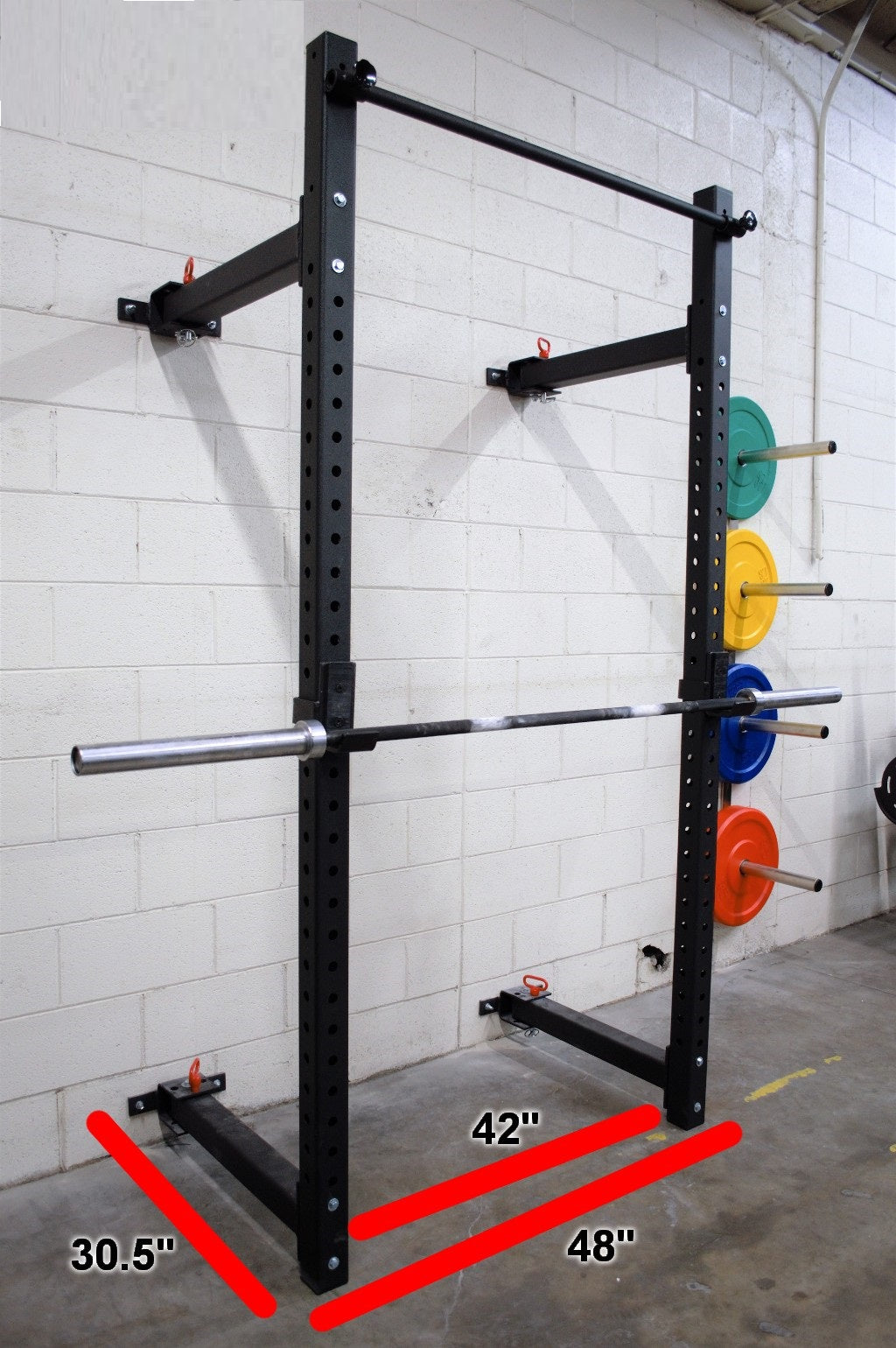 Foldable Wall Mounted Rack