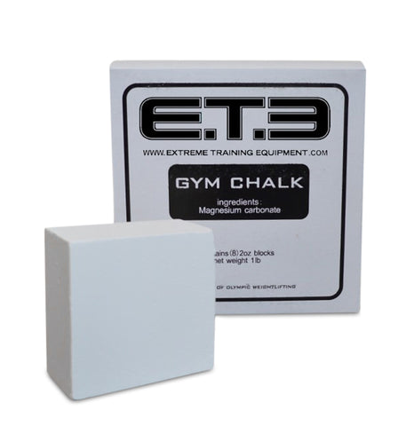 Gym Chalk (1 lb Box, 8 Blocks)