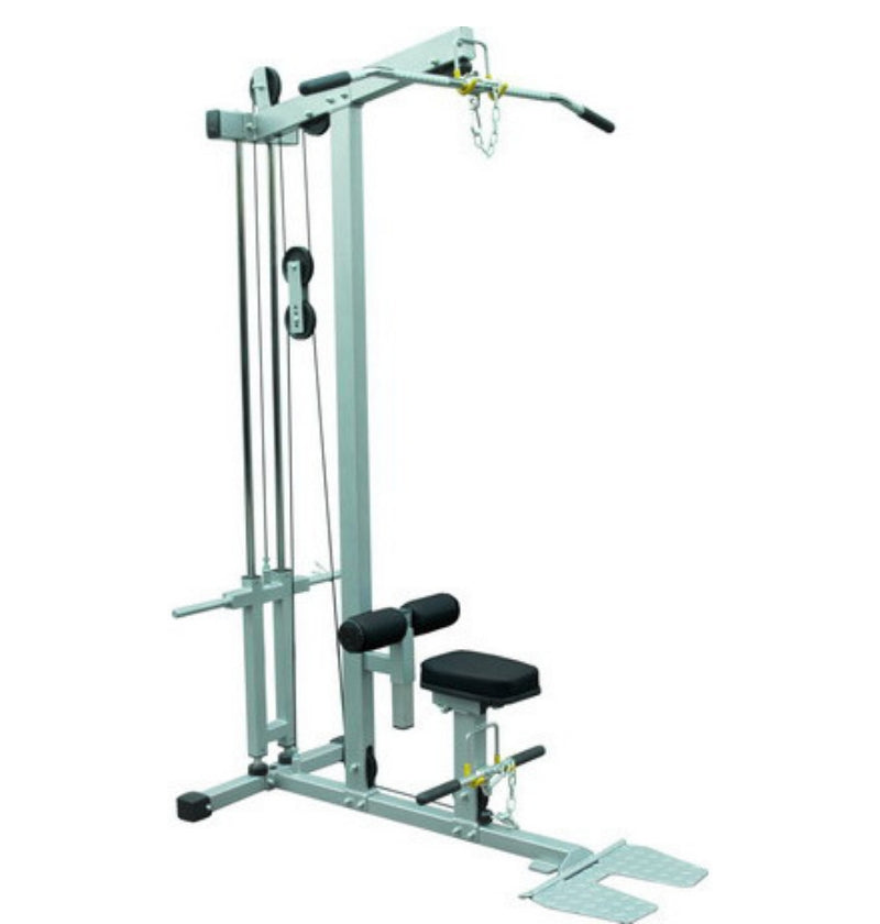 Lat Pulldown Low Row Plate Loaded