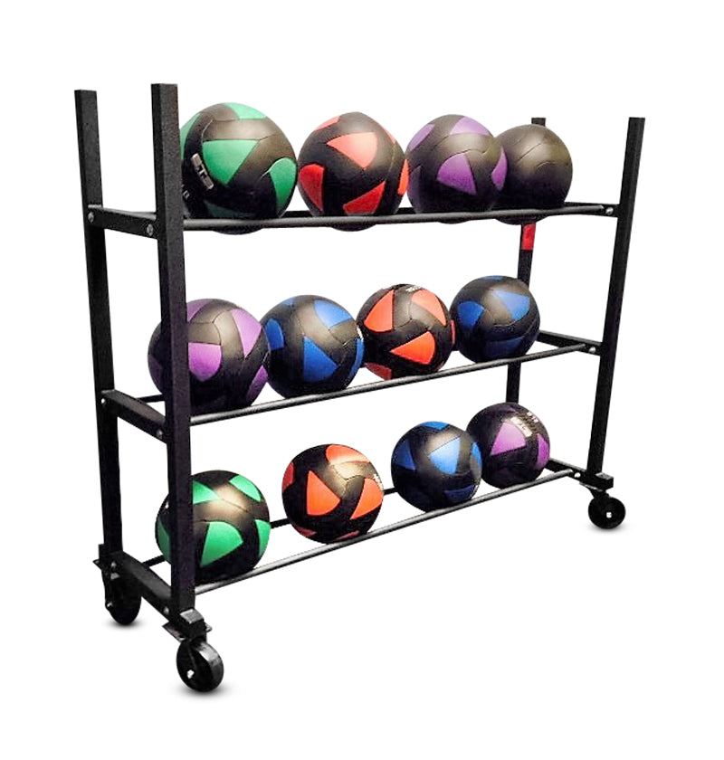 Horizontal Medicine Ball Racks