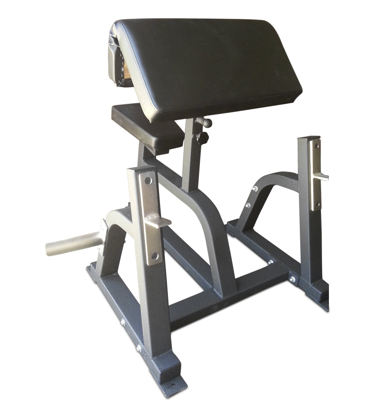 Preacher Curl Bench w/ 2 Weight Holders - USA Made