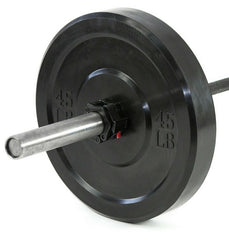Standard Black Bumper Plates (Pairs) (OUT OF STOCK)