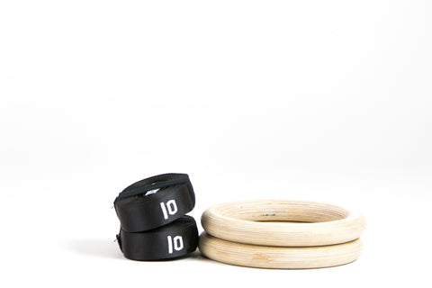 Wood Rings w/ Straps
