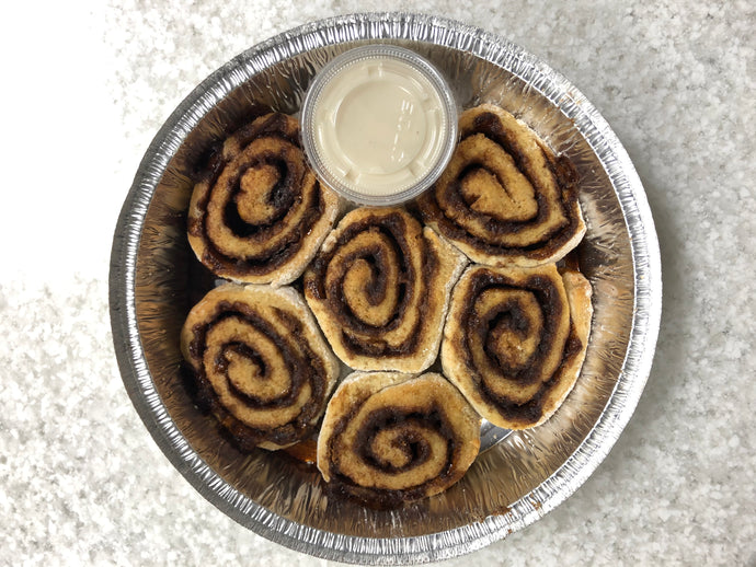 Cinnamon Rolls -Half Dozen - FROZEN TAKE AND BAKE