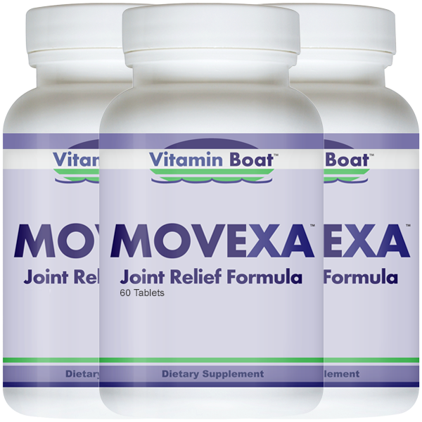 Movexa - 3 Bottles (Buy 2 + Get 1 Free)