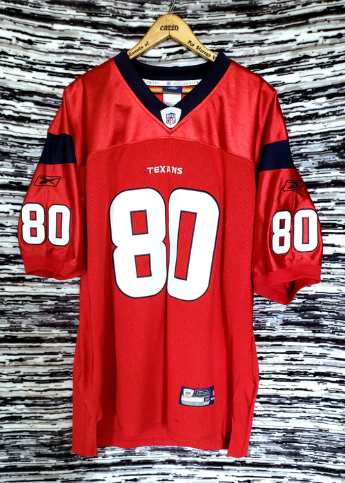 ANDRE Johnson Houston Texans Stitched size XX-Large /52
