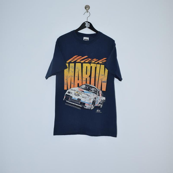 Vintage NASCAR Mark Martin T-Shirt. Large