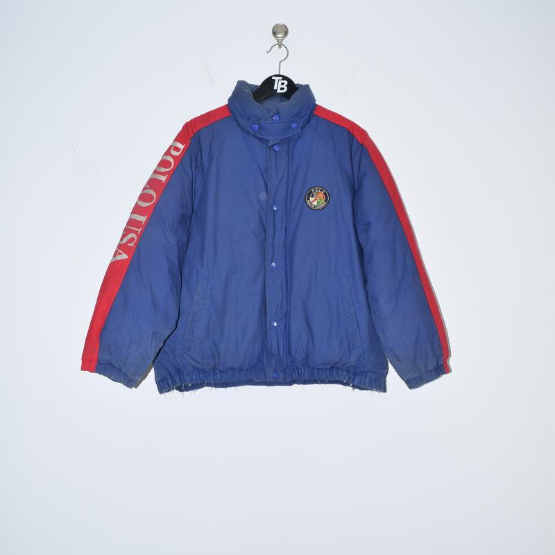 Vintage Polo Ralph Lauren USA Cookie Suicide Ski Jacket. Large