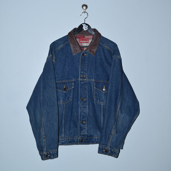 Vintage Marlboro Country Store Denim Jacket. X-Large