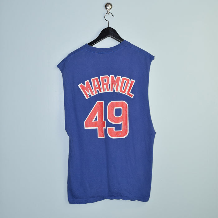 Classic Majestic Chicago Cubs Carlos Mármol Top. Large
