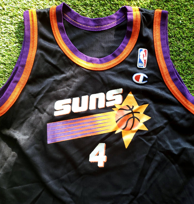"1995 Phoenix Suns : ""Michael Finley "" by Champion Size tagged youth Large( fits mens small/women's medium )"