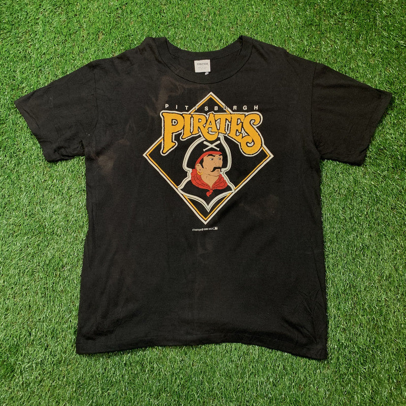 Vintage Starter Pittsburgh Pirates T-Shirt. Large